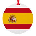 Spain.jpg Round Ornament