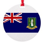British Virgin Islands.jpg Round Ornament