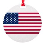 United States.jpg Round Ornament