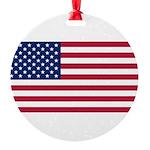 United States.jpg Round Ornament
