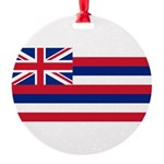 Hawaii.jpg Round Ornament