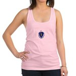 Massachusetts.jpg Racerback Tank Top