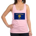 Oregon.jpg Racerback Tank Top