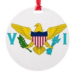 U.S. Virgin Islands.jpg Round Ornament