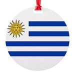 Uruguay.jpg Round Ornament
