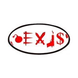 Coexist (symbols of war) Patches