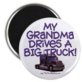 My Grandma drives... Magnet