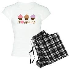 I Love Baking Cupcakes pajamas