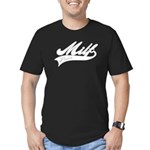 MILF power Men's Fitted T-Shirt (dark)