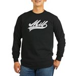 MILF power Long Sleeve Dark T-Shirt