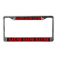 Bacon Fade License Plate Frame