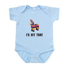 Id Hit That Infant Bodysuit