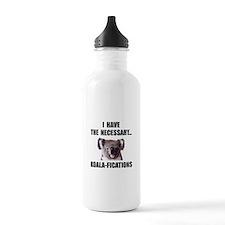 Koala Qualifications Water Bottle