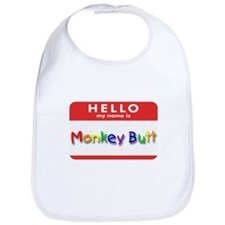 Monkey Butt Bib