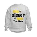 Big Sister to Be Personalized Sweatshirt