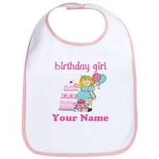 Birthday Girl Blond Bib