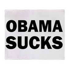 Obama Sucks Anti Obama Throw Blanket