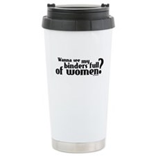 Binders Full of Women Ceramic Travel Mug