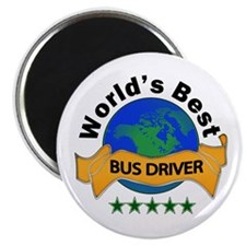 Cute Bus driver Magnet