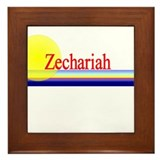 Zechariah Framed Tile