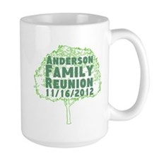Personalized Family Reunion Mug