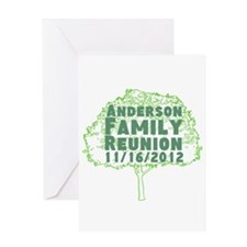 Personalized Family Reunion Greeting Card