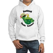 Retired Math Teacher Gift Jumper Hoody