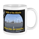 Winston Churchill U-Boat Peril Coffee Mug