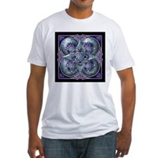 Silver & Purple Celtic Tapestry Shirt
