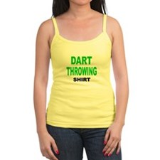 DART THROWING SHIRT .png Jr.Spaghetti Strap