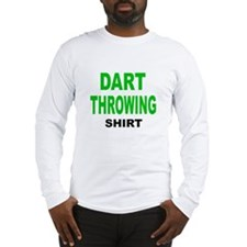 DART THROWING SHIRT .png Long Sleeve T-Shirt