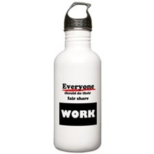 Everyone work Water Bottle