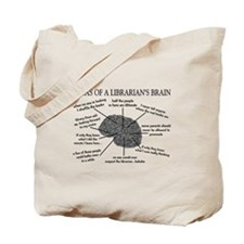 atlas of a librarians brain.PNG Tote Bag