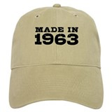 Made in 1963 Cap