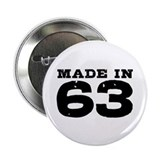 "Made in 63 2.25"" Button"