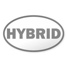 Hybrid Oval Decal