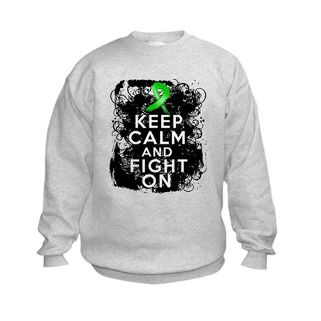 Bile Duct Cancer Keep Calm Fight On Kids Sweatshir