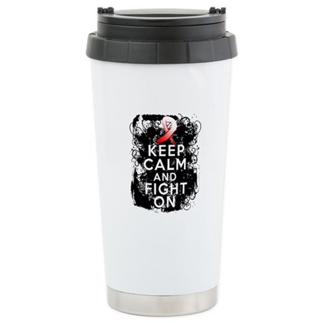 Aplastic Anemia Keep Calm Fight On Ceramic Travel