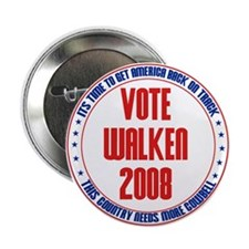 Official Walken 2008 Campaign Button
