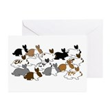 Many Bunnies Greeting Cards (Pk of 20)