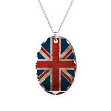 UK British English Union Jack Necklace