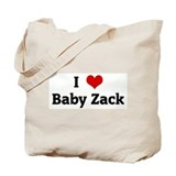 I Love Baby Zack Tote Bag