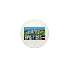Fort Wayne Indiana Greetings Mini Button (100 pack