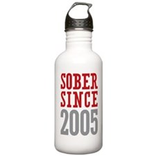 Sober Since 2005 Water Bottle