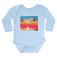 Red Vines Long Sleeve Infant Bodysuit