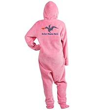 Personalized Dragon Footed Pajamas