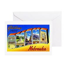 Omaha Nebraska Greetings Greeting Cards (Pk of 20)