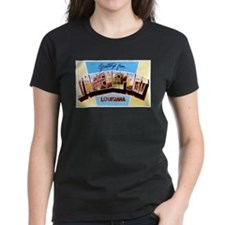 Shreveport Louisiana Greetings Tee