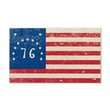 Bennington 76 Flag Rectangle Car Magnet