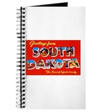 South Dakota Greetings Journal
